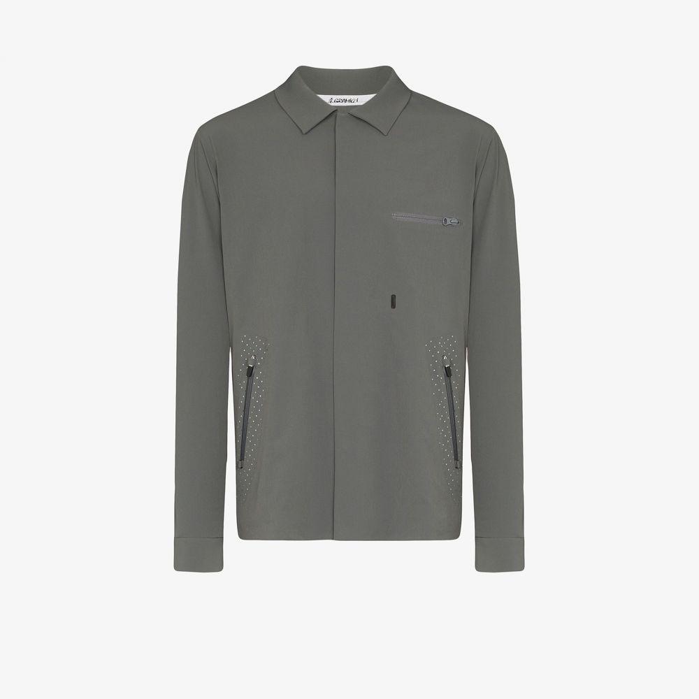 グラミチ Gramicci メンズ ジャケット アウター【grey pertex stretch technical jacket】grey