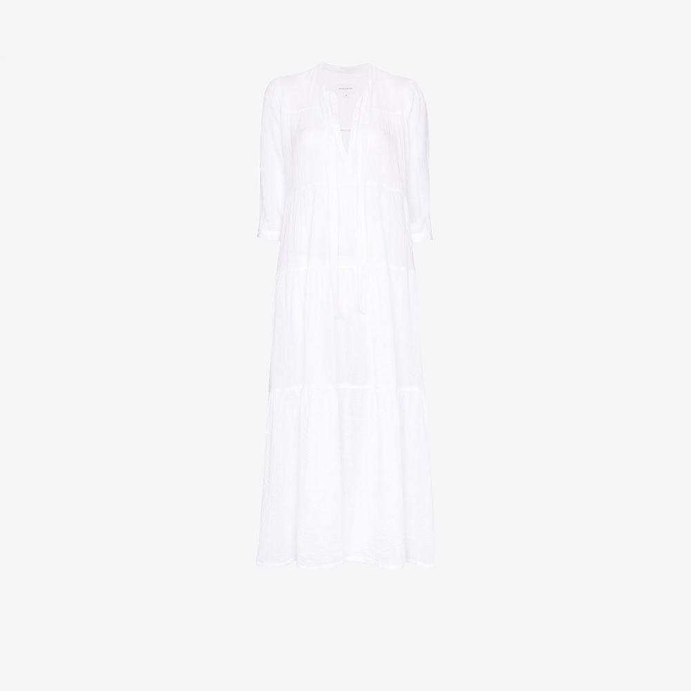 オノリーヌ Honorine レディース ワンピース マキシ丈 ワンピース・ドレス【Giselle maxi dress】white