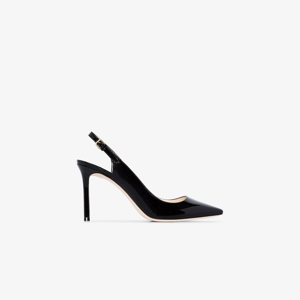 ジミー チュウ Jimmy Choo レディース パンプス シューズ・靴【black Erin patent leather pumps】black