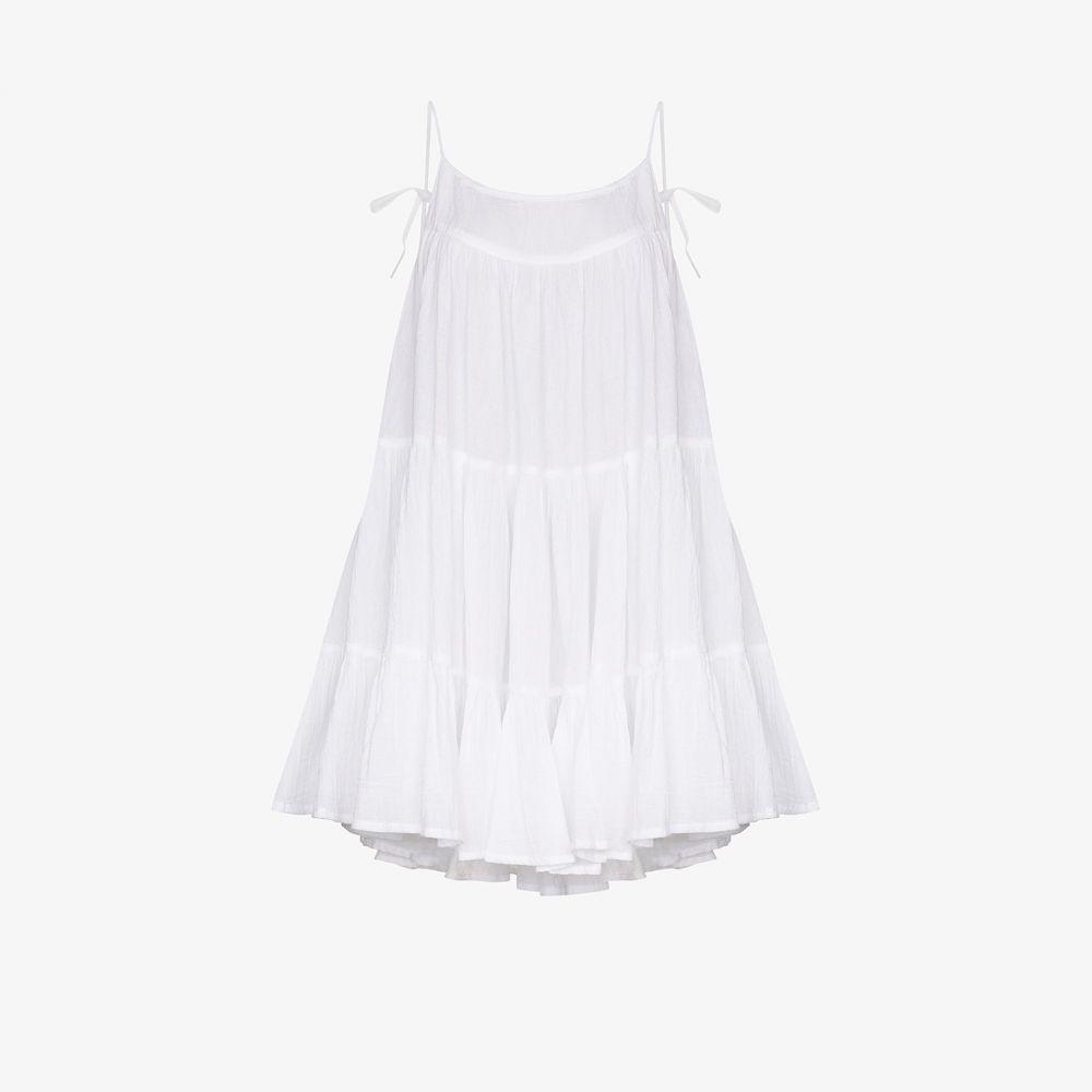 オノリーヌ Honorine レディース ワンピース ミニ丈 ワンピース・ドレス【Peri mini dress】white
