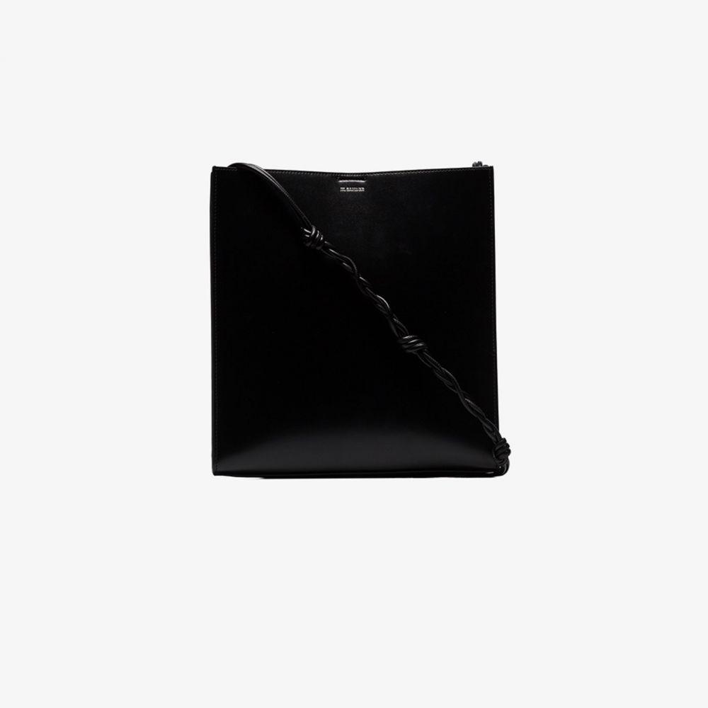 ジル サンダー Jil Sander レディース ショルダーバッグ バッグ【black Tangle medium leather bag】black