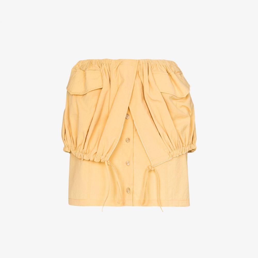 ジャックムス Jacquemus レディース スカート 【La Jupe Cueillette Courte skirt】yellow