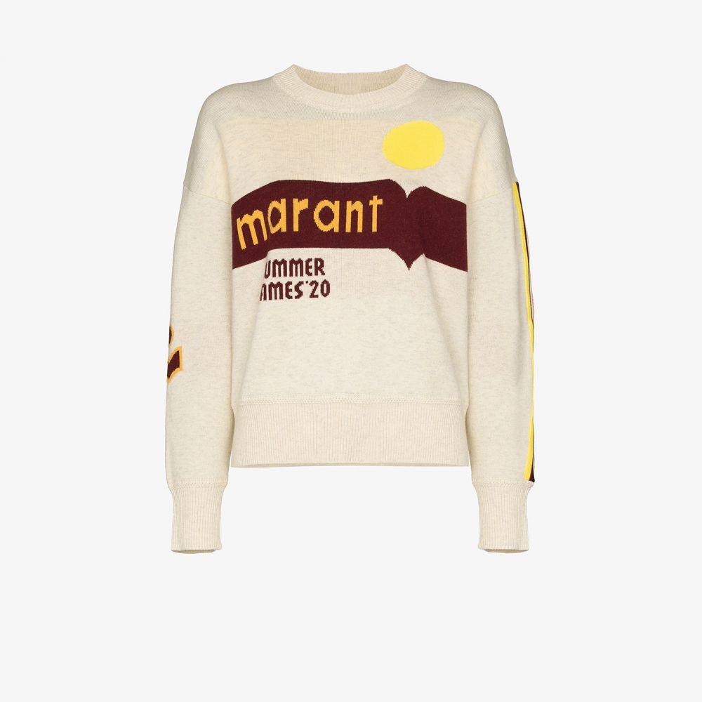 イザベル マラン Isabel Marant Etoile レディース スウェット・トレーナー トップス【Kleden logo sweatshirt】neutrals