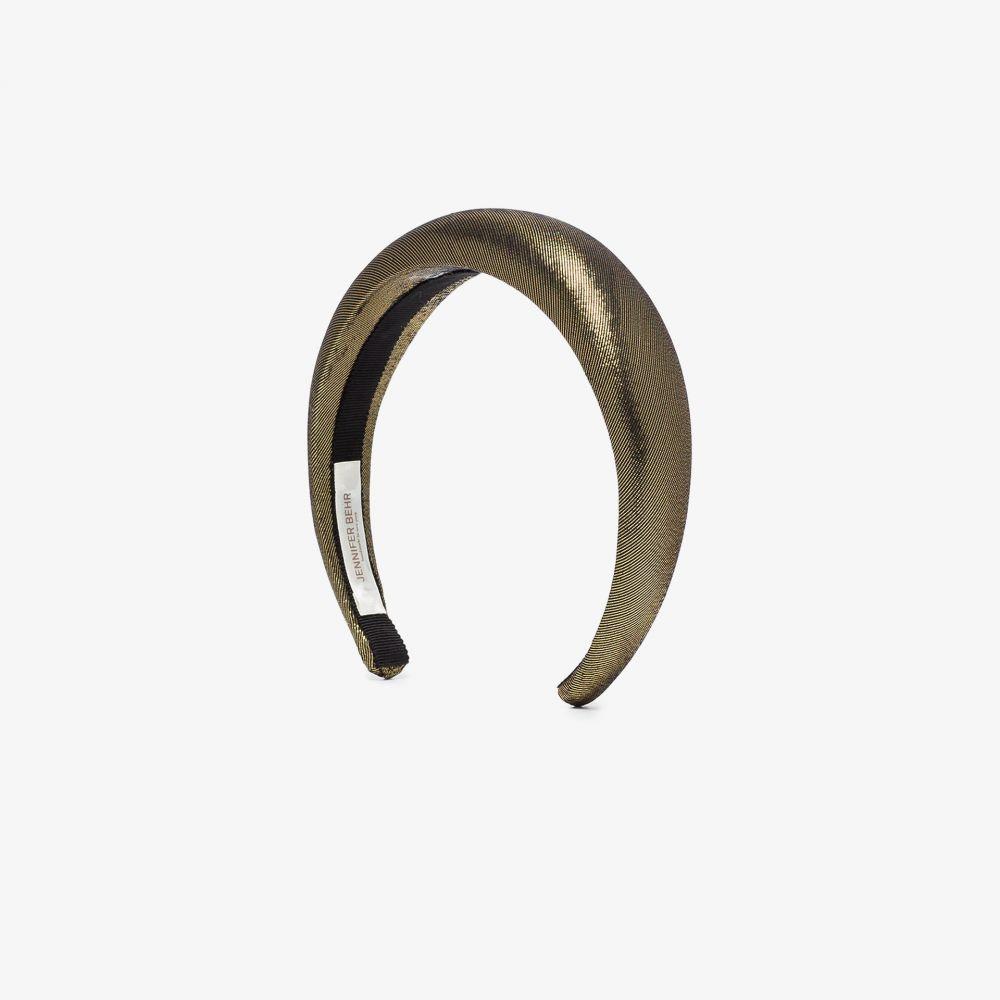ジェニファーベア Jennifer Behr レディース ヘアアクセサリー ヘッドバンド【metallic thada lame headband】metallic