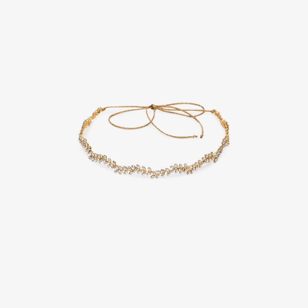 ジェニファーベア Jennifer Behr レディース ヘアアクセサリー ヘッドバンド【gold tone Vine crystal headband】gold