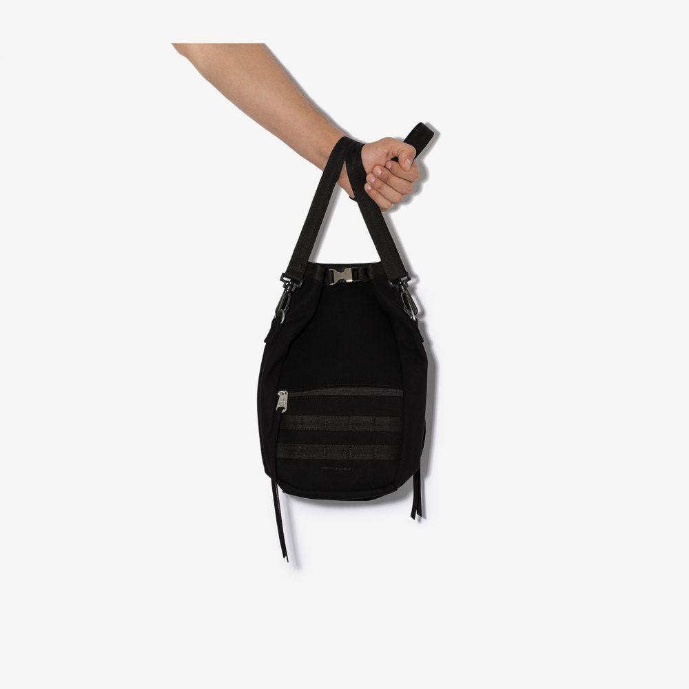 インディスペンサブル Indispensable メンズ トートバッグ バッグ【black Zuta suede tote bag】black