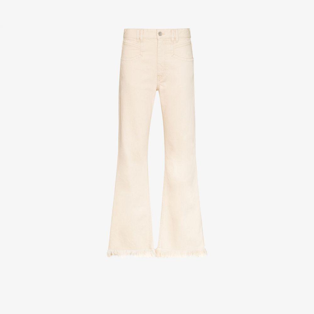 イザベル マラン Isabel Marant レディース ジーンズ・デニム ボトムス・パンツ【Elvira frayed jeans】white