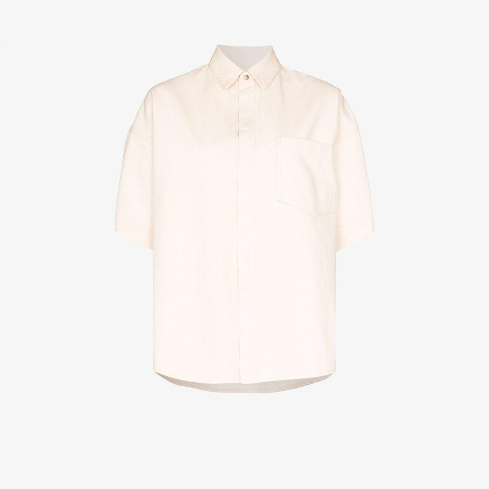 ジル サンダー Jil Sander レディース ブラウス・シャツ トップス【oversized cotton shirt】neutrals