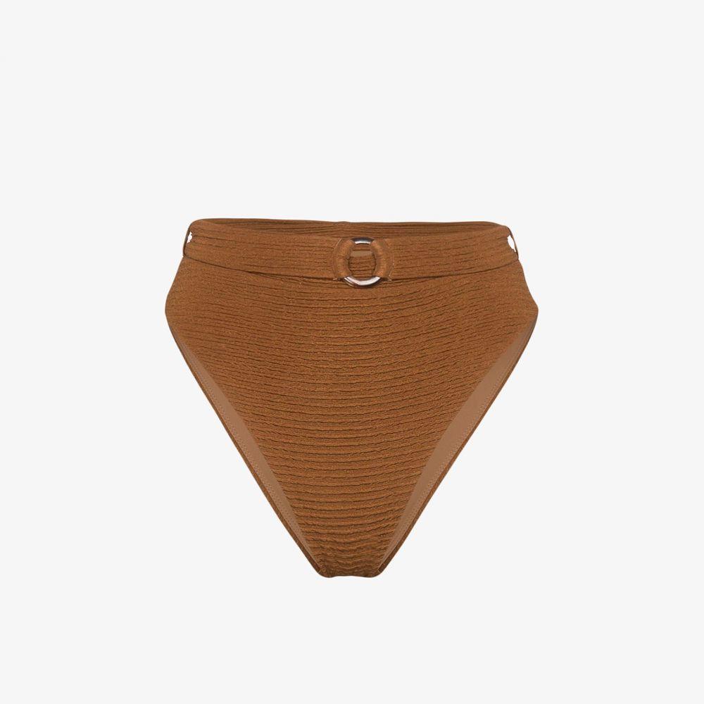 ジュイエ Juillet レディース ボトムのみ 水着・ビーチウェア【Ashley belted bikini bottoms】brown