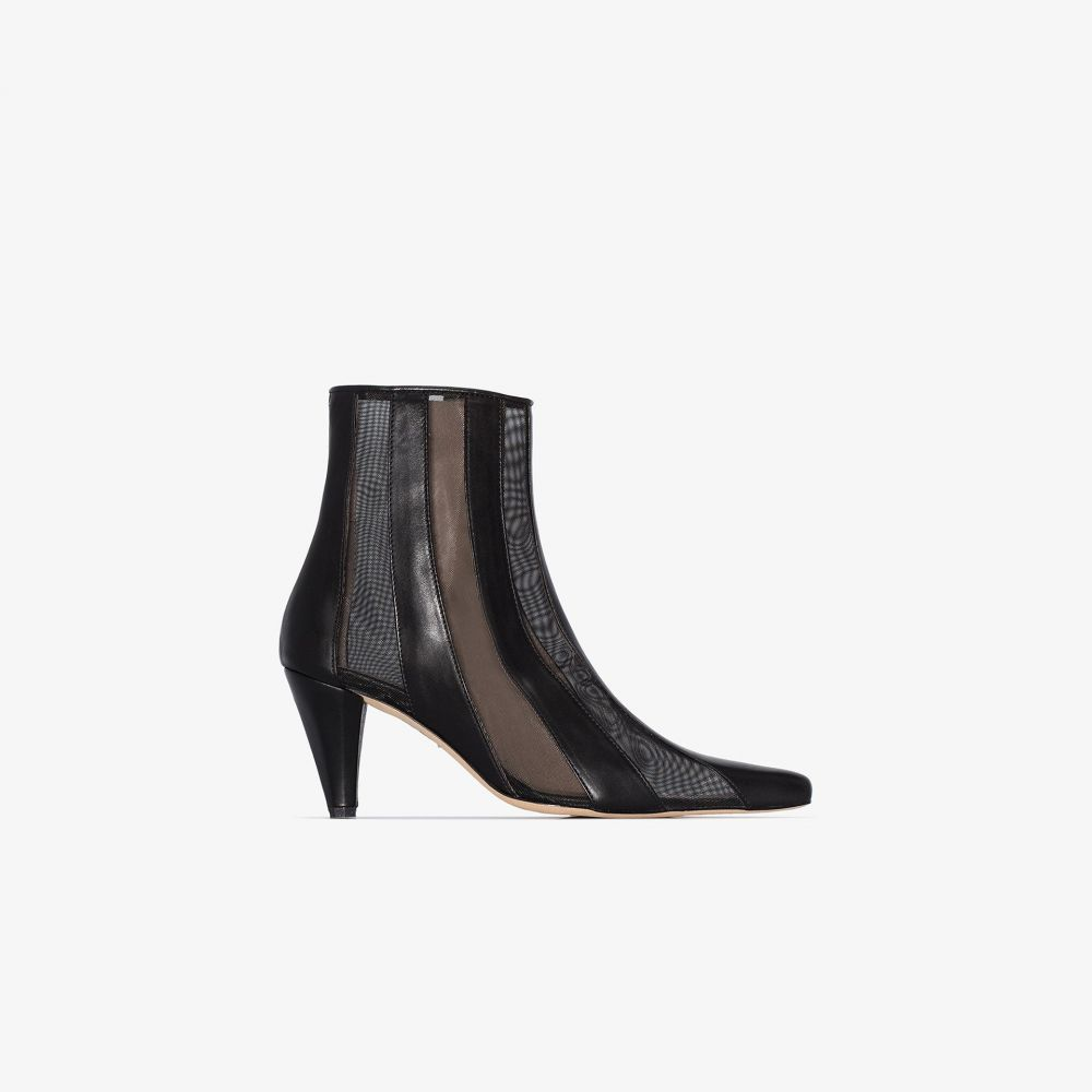 カルダ Kalda レディース ブーツ ショートブーツ シューズ・靴【black lio 75 mesh ankle boots】black