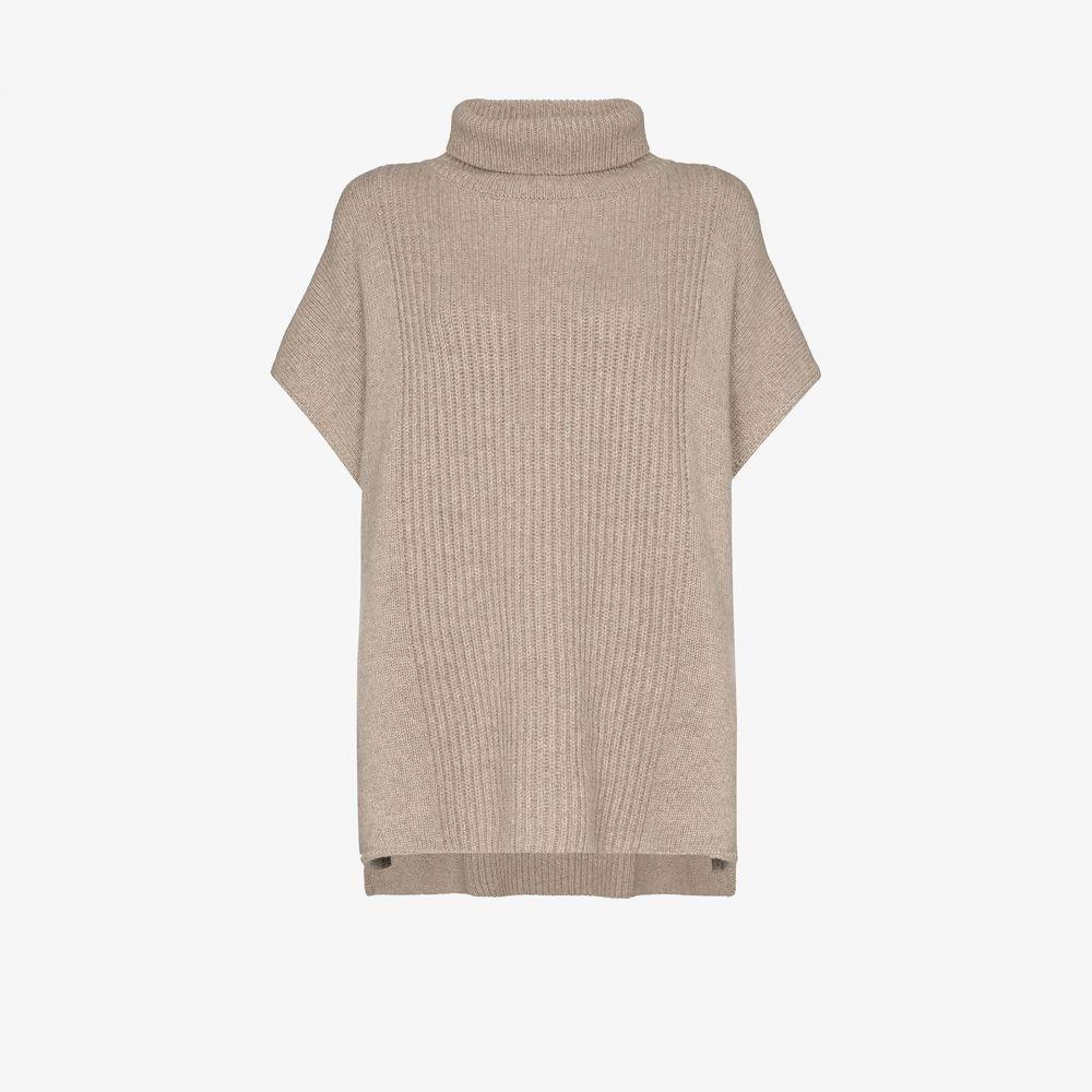 ジョゼフ Joseph レディース ポンチョ アウター【high neck cashmere poncho】grey