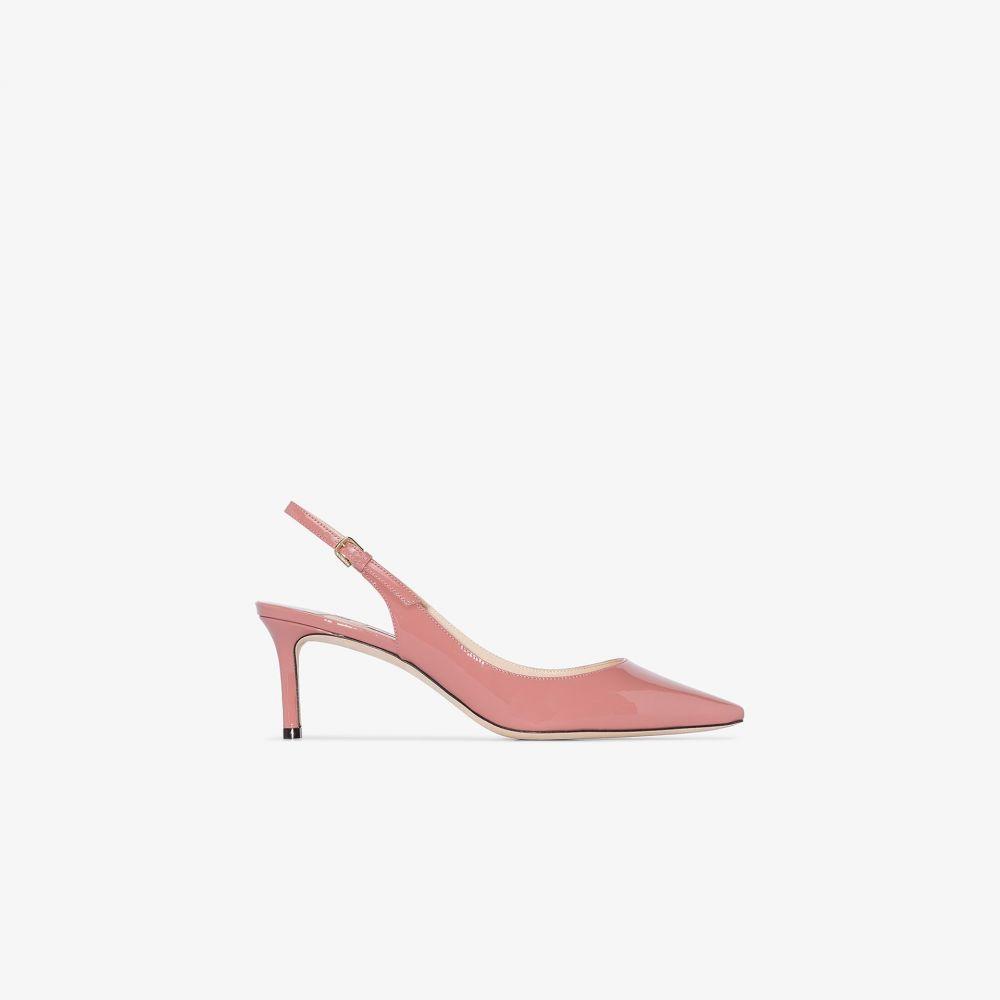 ジミー チュウ Jimmy Choo レディース パンプス シューズ・靴【pink Erin 60 leather pumps】pink