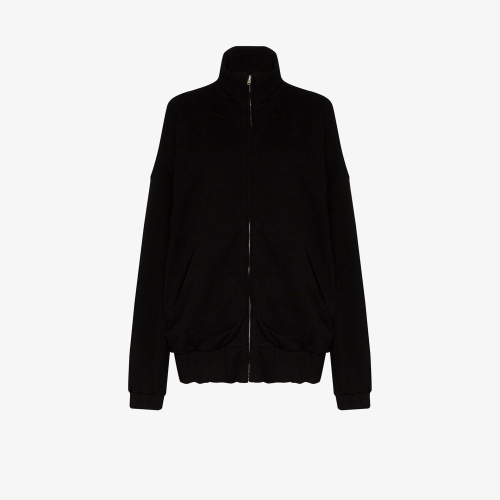 レス ティエン Les Tien レディース ジャケット アウター【zip-up cotton jacket】black