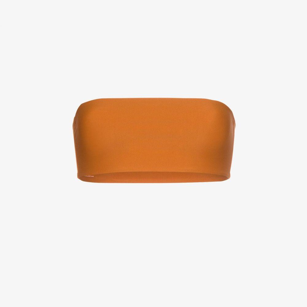 ジュイエ Juillet レディース トップのみ 水着・ビーチウェア【sari bandeau bikini top】orange