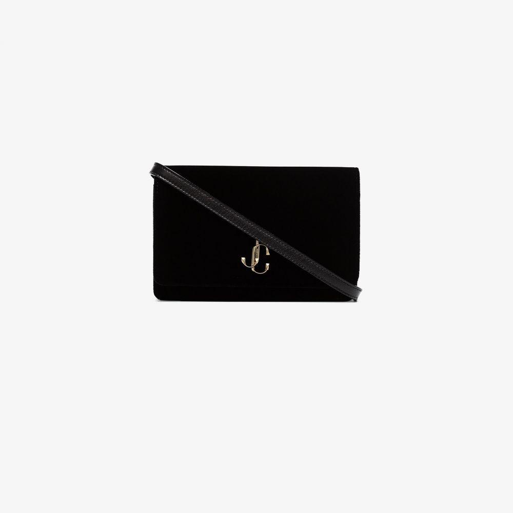 ジミー チュウ Jimmy Choo レディース ショルダーバッグ バッグ【velvet Palace crossbody bag】black