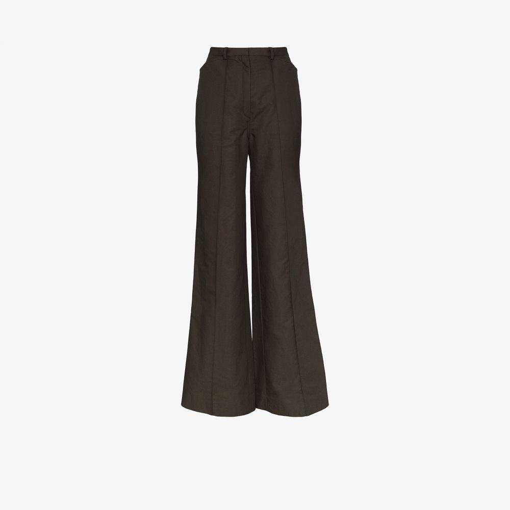 ルメール Lemaire レディース ボトムス・パンツ 【high waist flared trousers】black