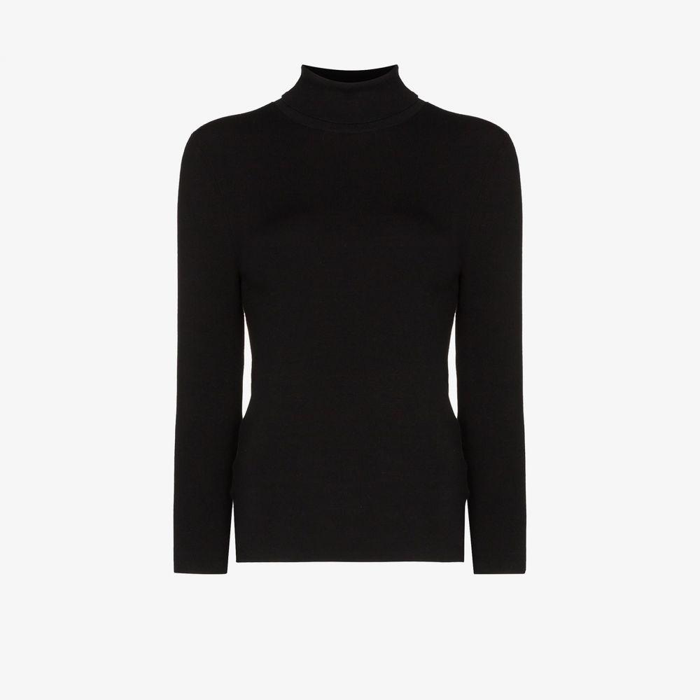 ジョゼフ Joseph レディース ニット・セーター トップス【turtleneck knitted top】black