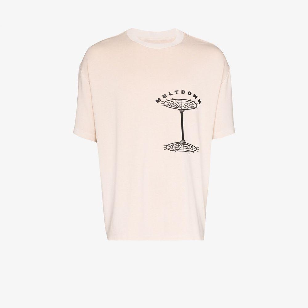 リアムホッジ Liam Hodges メンズ Tシャツ トップス【Ultra Meltdown T-shirt】neutrals