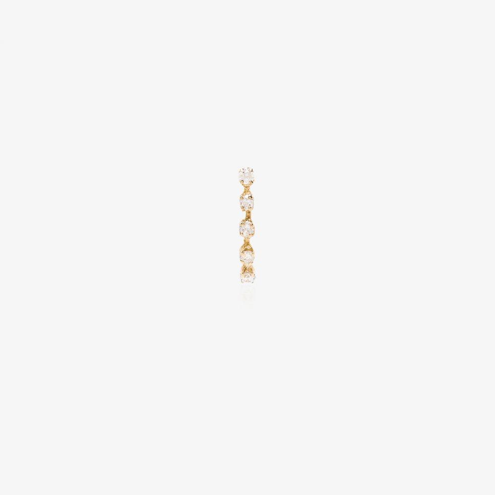 ローレン スチュワート Loren Stewart レディース イヤリング・ピアス スタッドピアス ジュエリー・アクセサリー【14K yellow gold curved diamond stud earring】