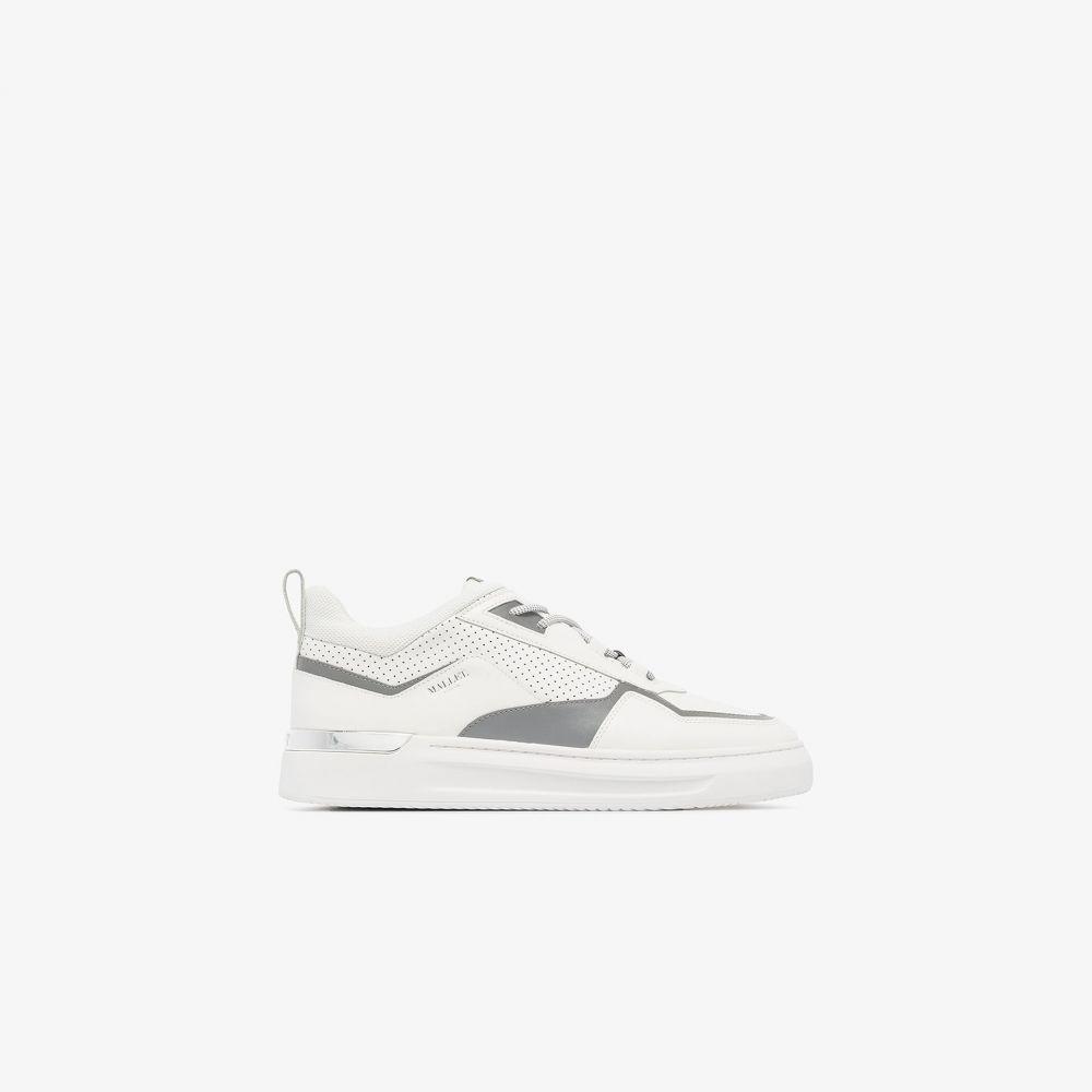 マレット Mallet メンズ スニーカー ローカット シューズ・靴【white North One leather low top sneakers】black