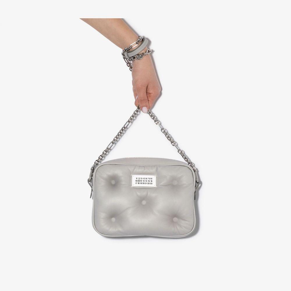 メゾン マルジェラ Maison Margiela レディース ショルダーバッグ カメラバッグ バッグ【Grey padded leather camera bag】grey