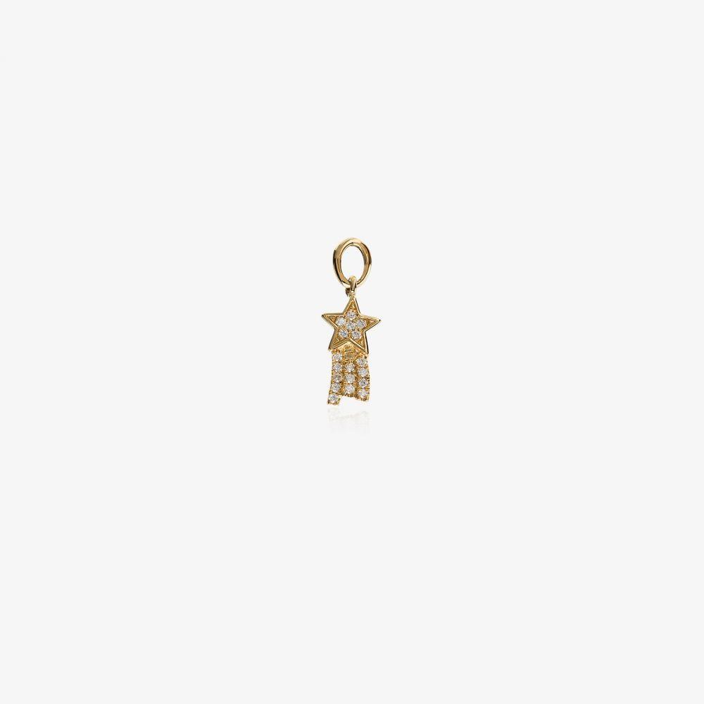 ロケット Loquet レディース ジュエリー・アクセサリー チャーム 18K yellow gold talisman star charmw80OPnk