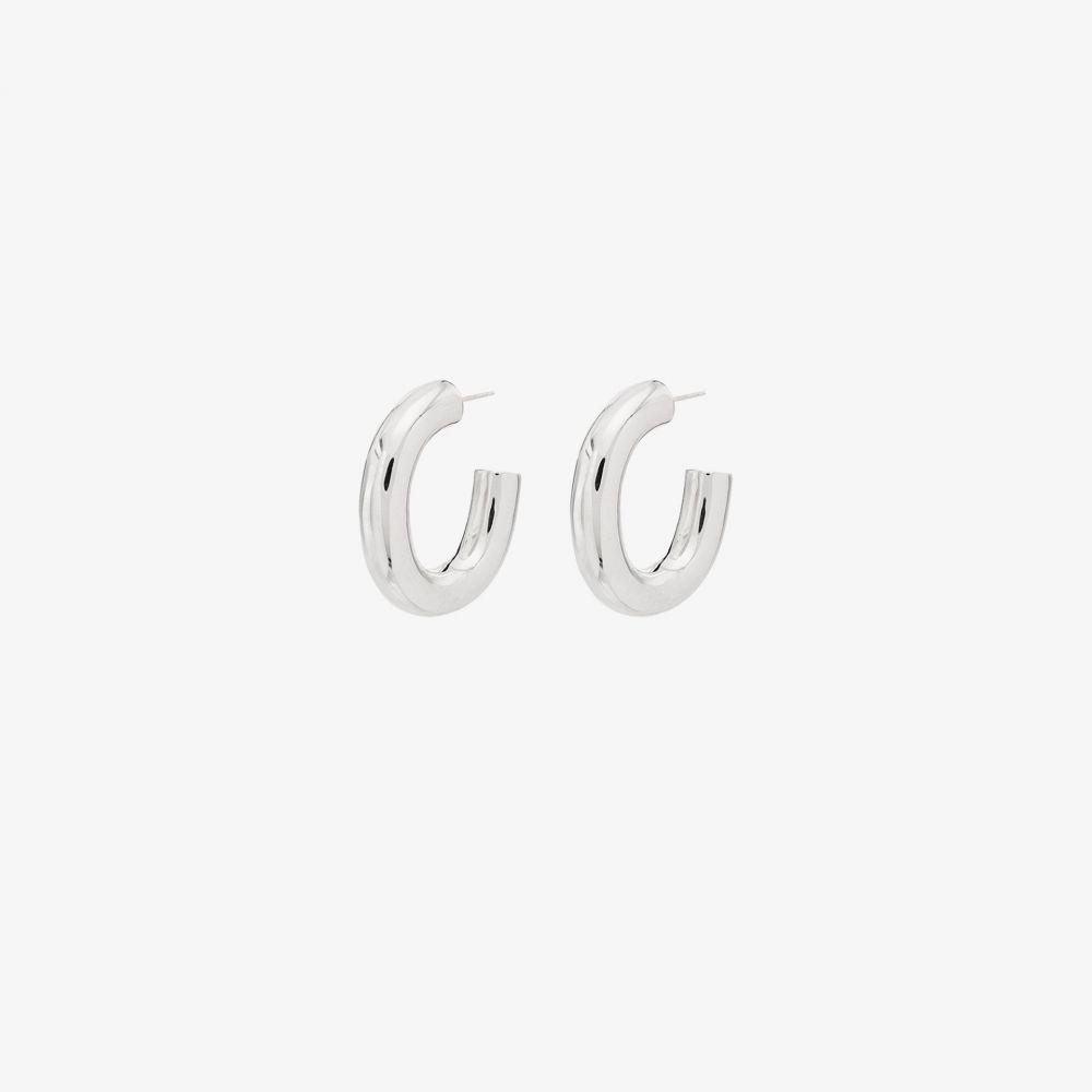 ローレン スチュワート Loren Stewart レディース イヤリング・ピアス ジュエリー・アクセサリー【sterling silver Bubble hoop earrings】