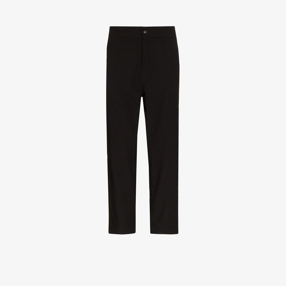 ロット78 LOT78 メンズ ボトムス・パンツ 【mid-rise straight leg trousers】black