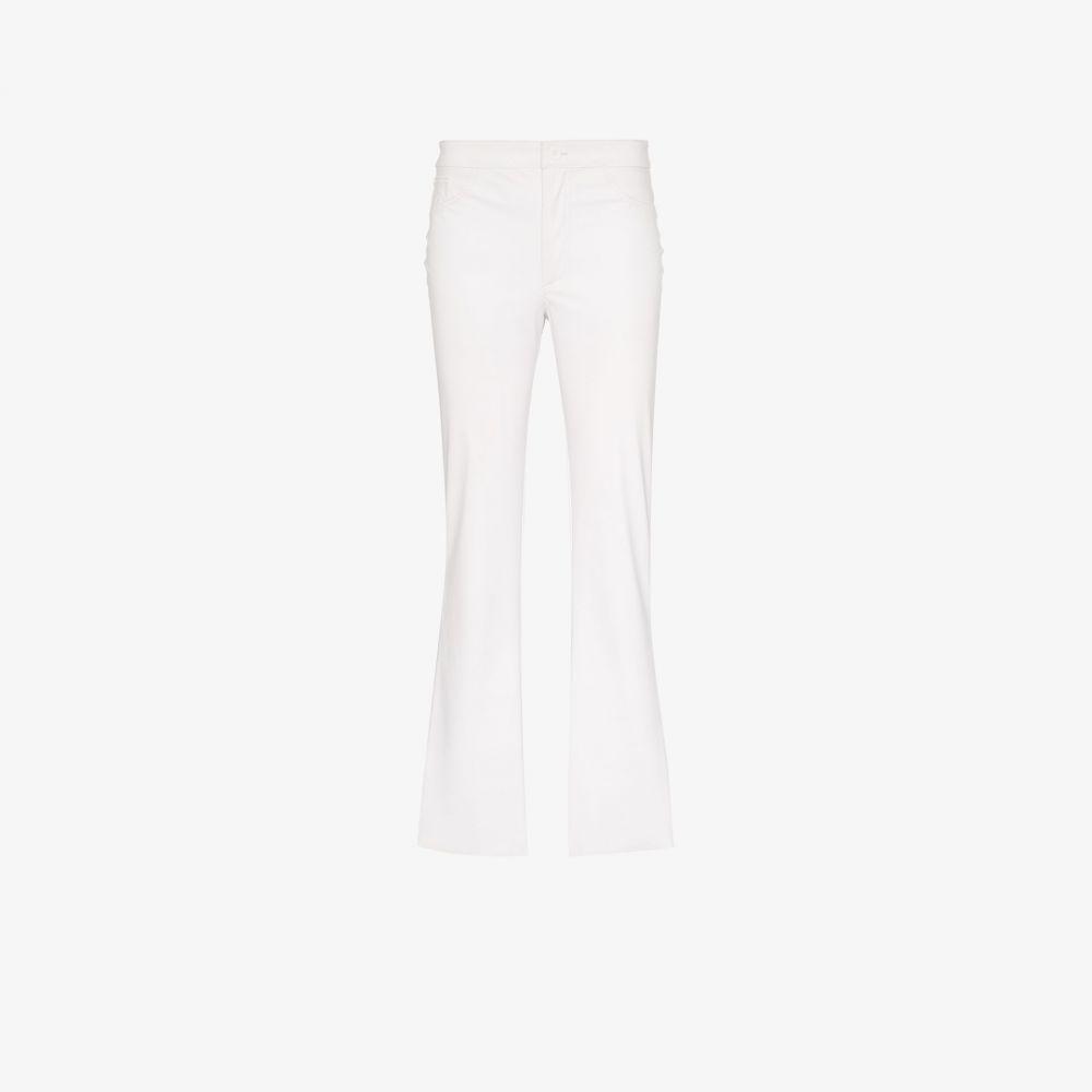メイジー ウィレン Maisie Wilen レディース ジーンズ・デニム ボトムス・パンツ【Mid-rise slim leg jeans】white