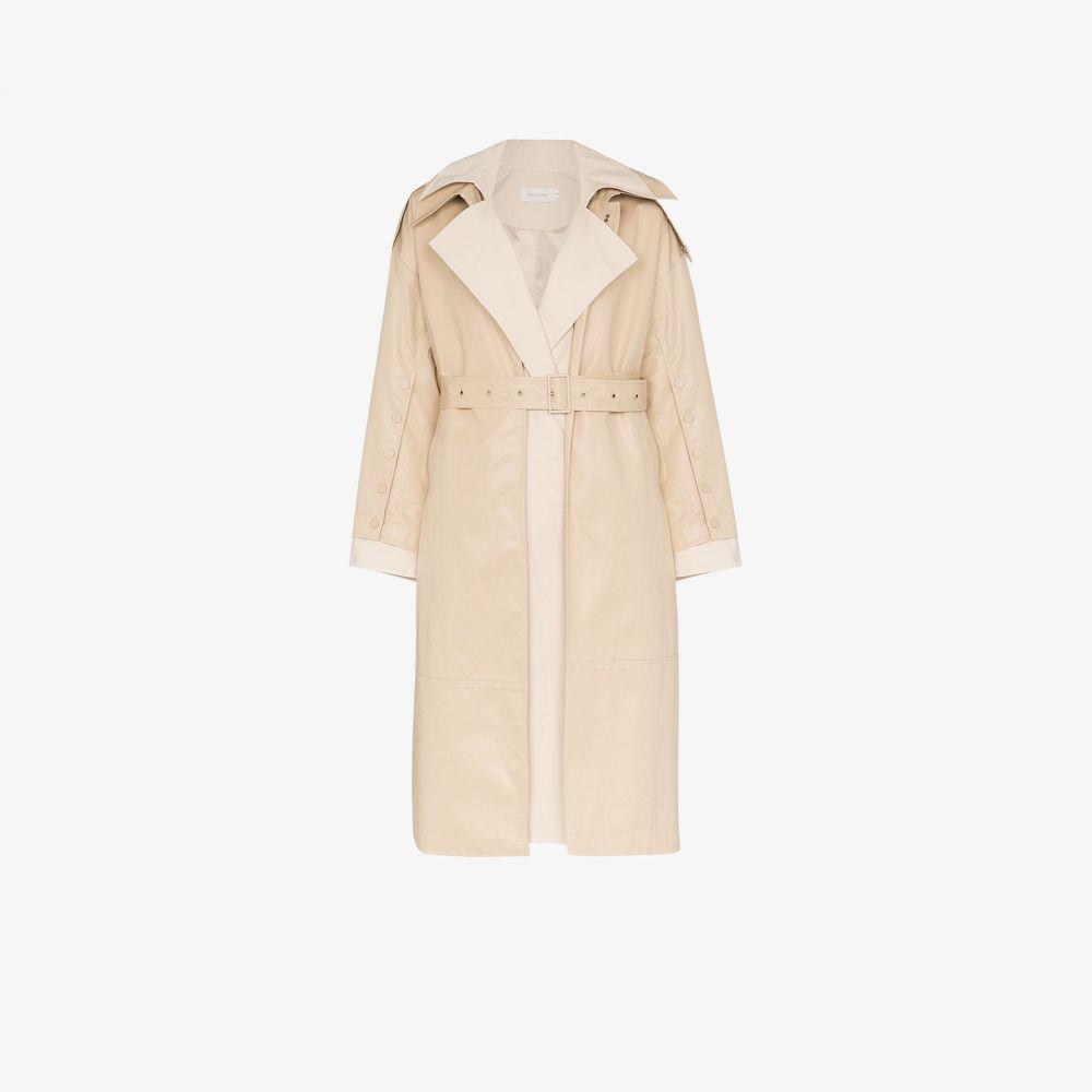 ロウ クラシック Low Classic レディース トレンチコート アウター【Cotton Belted Trench Coat】neutrals