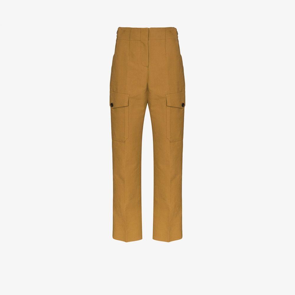 LVIR レディース カーゴパンツ ボトムス・パンツ【tailored cargo trousers】brown