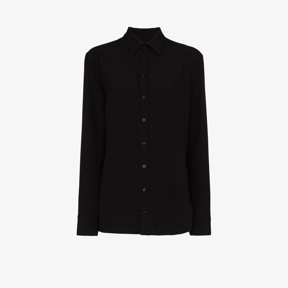 メゾン マルジェラ Maison Margiela レディース スリップ・キャミソール インナー・下着【convertible camisole shirt】black