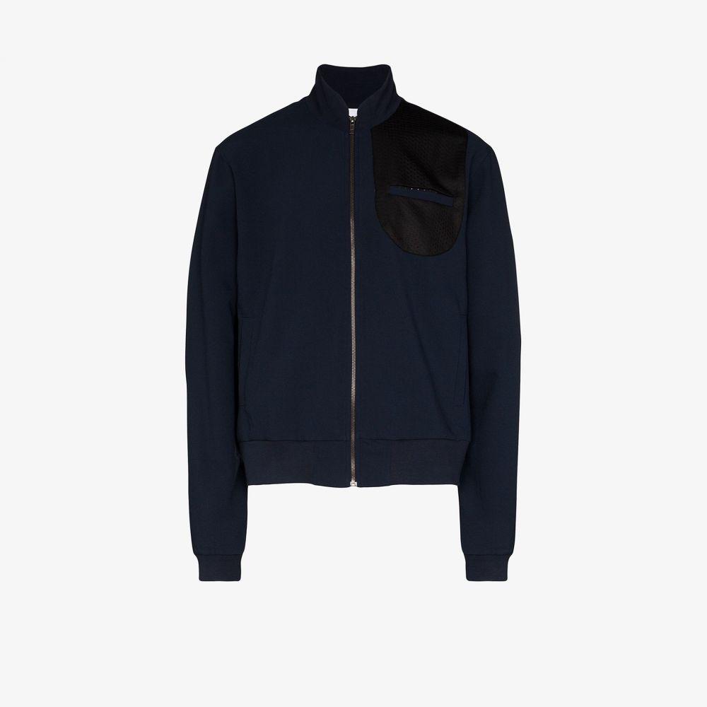 ロット78 LOT78 メンズ ブルゾン ミリタリージャケット アウター【mesh detail bomber jacket】blue