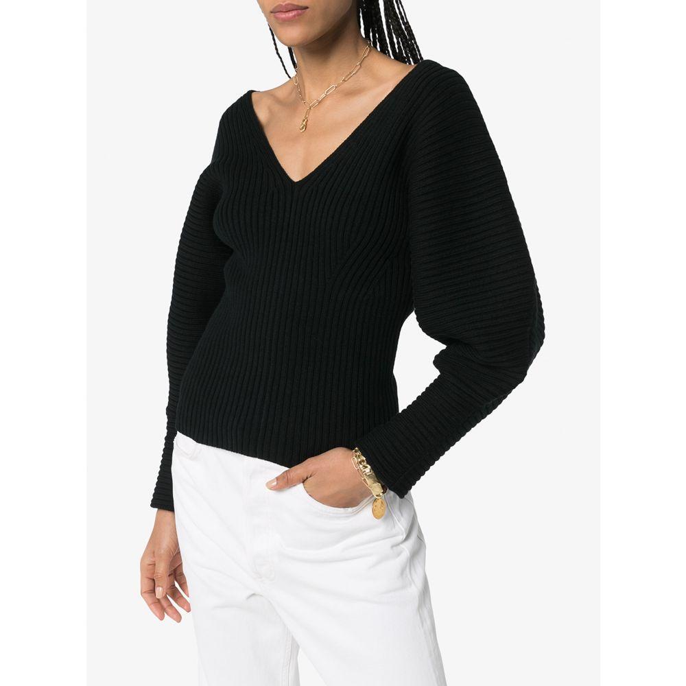 マラ ホフマン Mara Hoffman レディース ニット・セーター トップス Olla organic cotton blend sweater blackwX8Okn0P