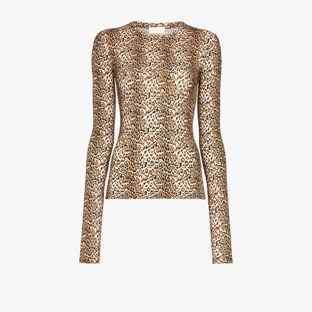 マルシア Marcia レディース トップス 【Chercher le Garcon leopard print top】brown