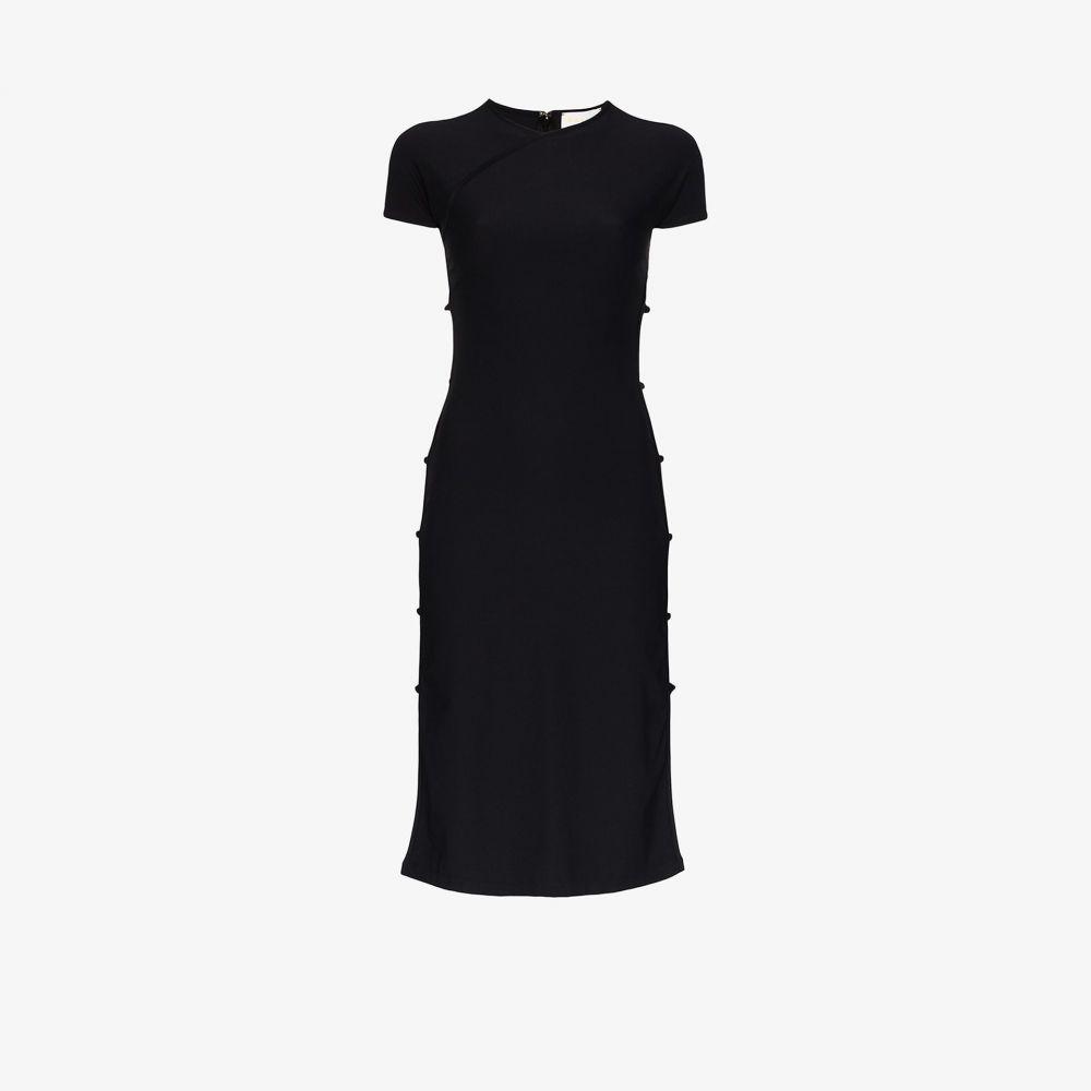 マルシア Marcia レディース パーティードレス ミドル丈 ワンピース・ドレス【Tchikiboum midi dress】black