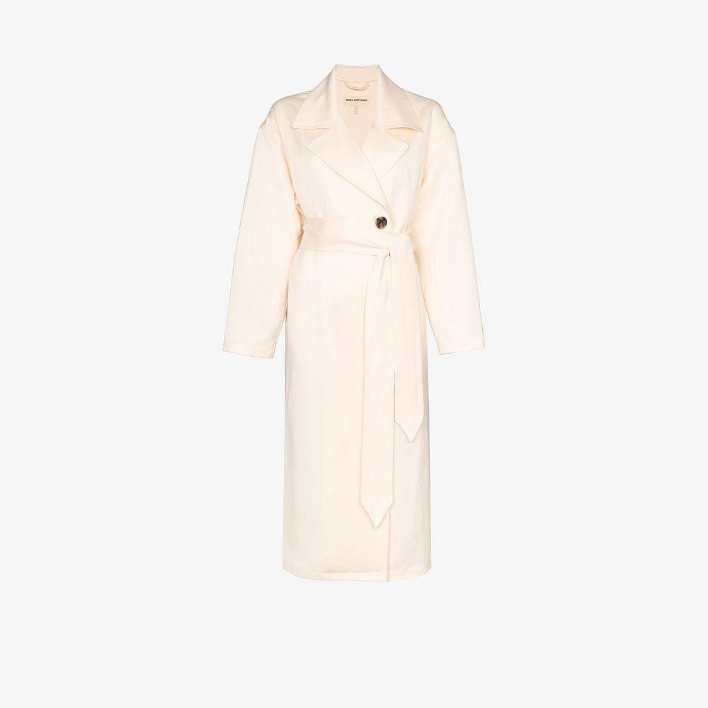 マラ ホフマン Mara Hoffman レディース コート アウター【Bernadetta belted coat】neutrals