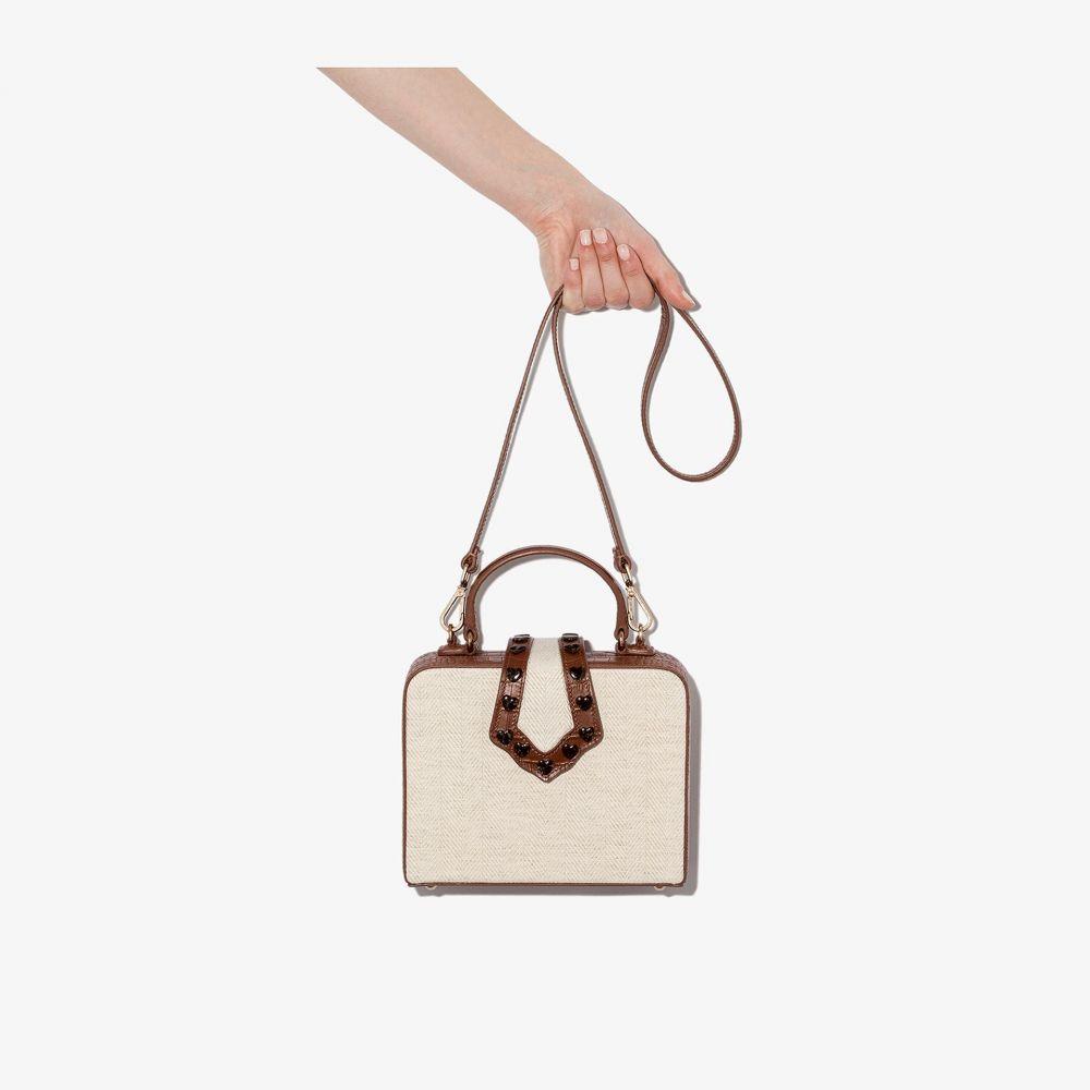 メヘリー ムー Mehry Mu レディース トートバッグ バッグ【neutral mini Linn leather box bag】neutrals