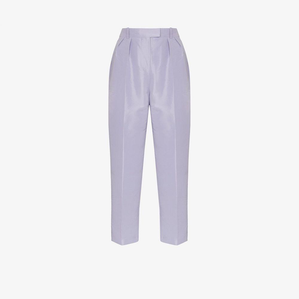 Nackiye レディース ボトムス・パンツ 【Adana high waist trousers】purple