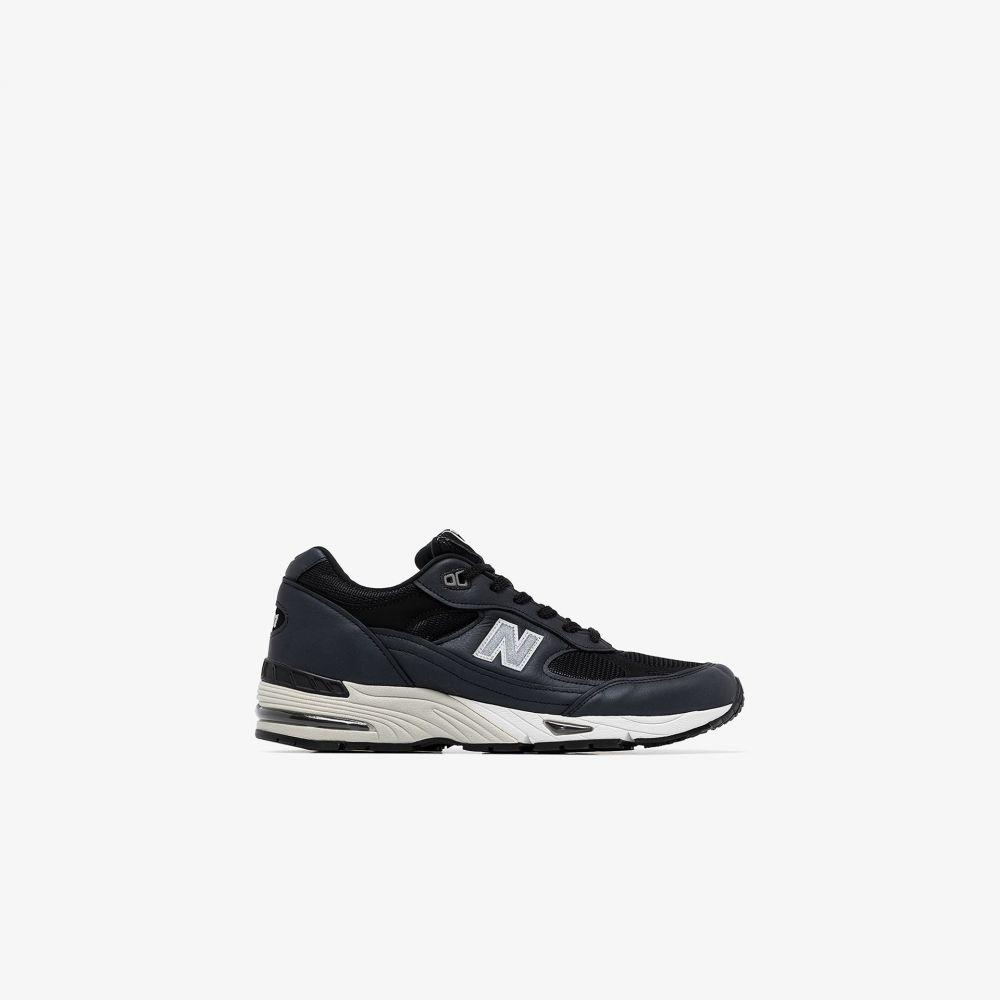 ニューバランス New Balance メンズ スニーカー ローカット シューズ・靴【blue M991 low top sneakers】blue