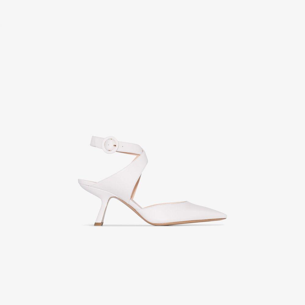 ニコラス カークウッド Nicholas Kirkwood レディース パンプス シューズ・靴【Lexi strap pumps】white