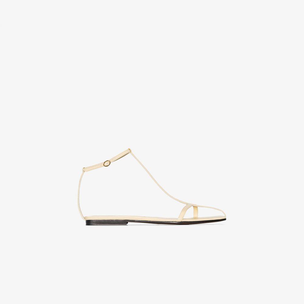 ネオアス NEOUS レディース サンダル・ミュール シューズ・靴【Yellow Jacqui Leather Sandals】neutrals