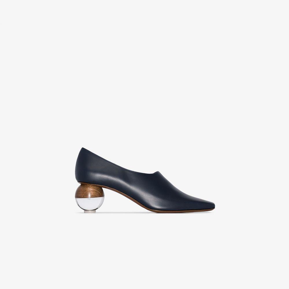 ネオアス NEOUS レディース パンプス シューズ・靴【blue Orchis 60 leather pumps】blue