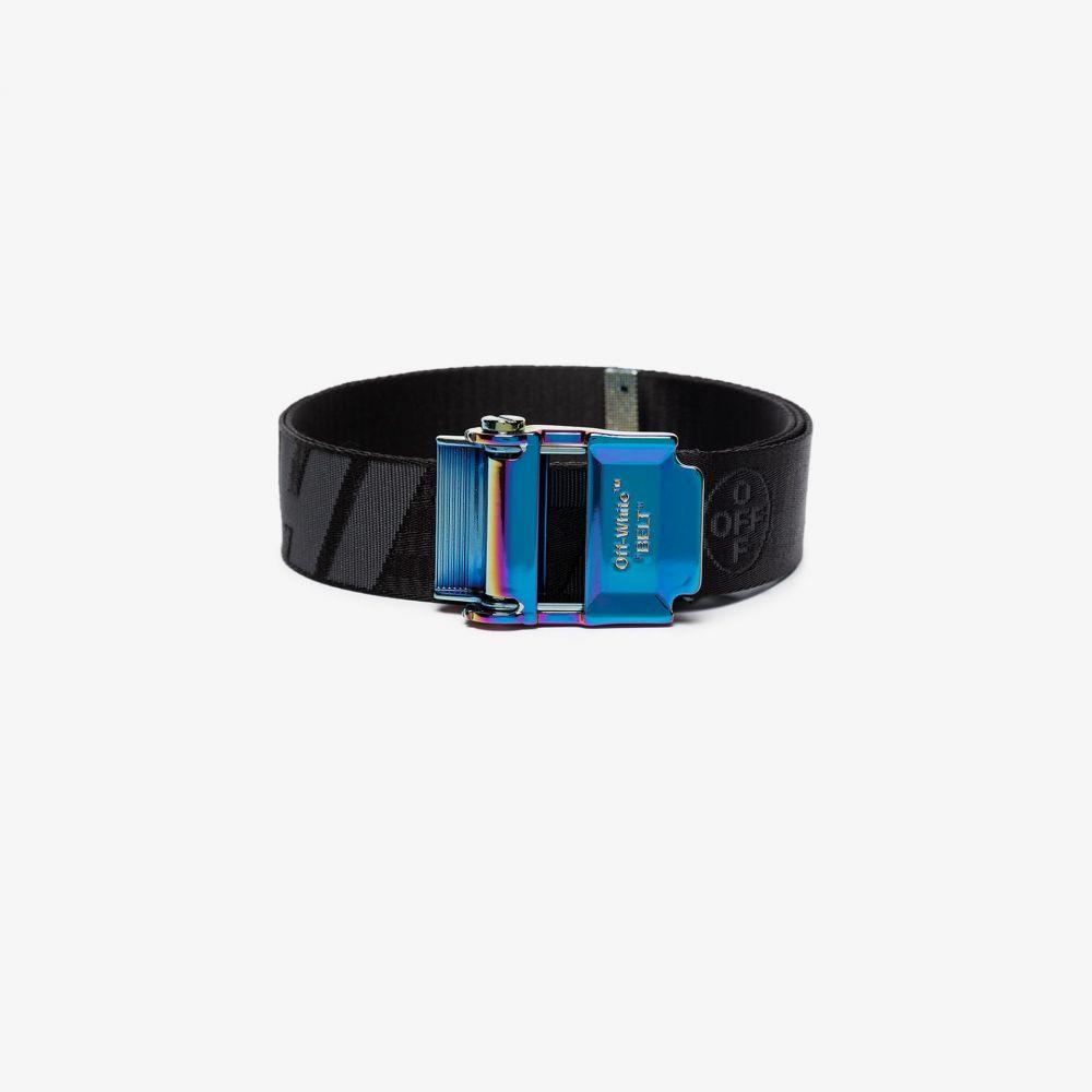 オフホワイト Off-White メンズ ベルト 【Black Industrial webbed belt】black