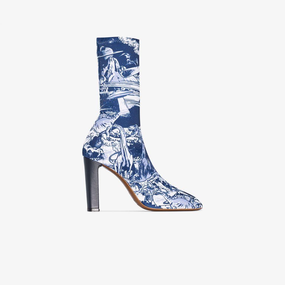 ネオアス NEOUS レディース ブーツ ショートブーツ シューズ・靴【X Timba Smits blue laelia 95 ankle boots】blue