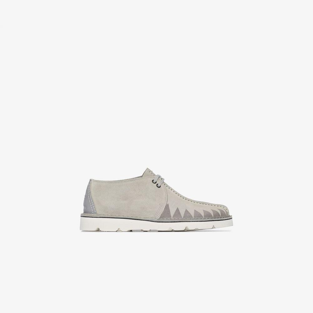ネイバーフッド Neighborhood メンズ ブーツ シューズ・靴【X Clarks Originals grey Wallabee suede desert boots】grey