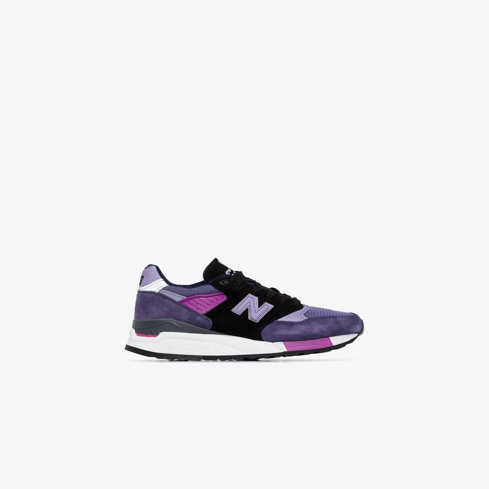ニューバランス New Balance メンズ スニーカー ローカット シューズ・靴【purple M998 low top sneakers】purple