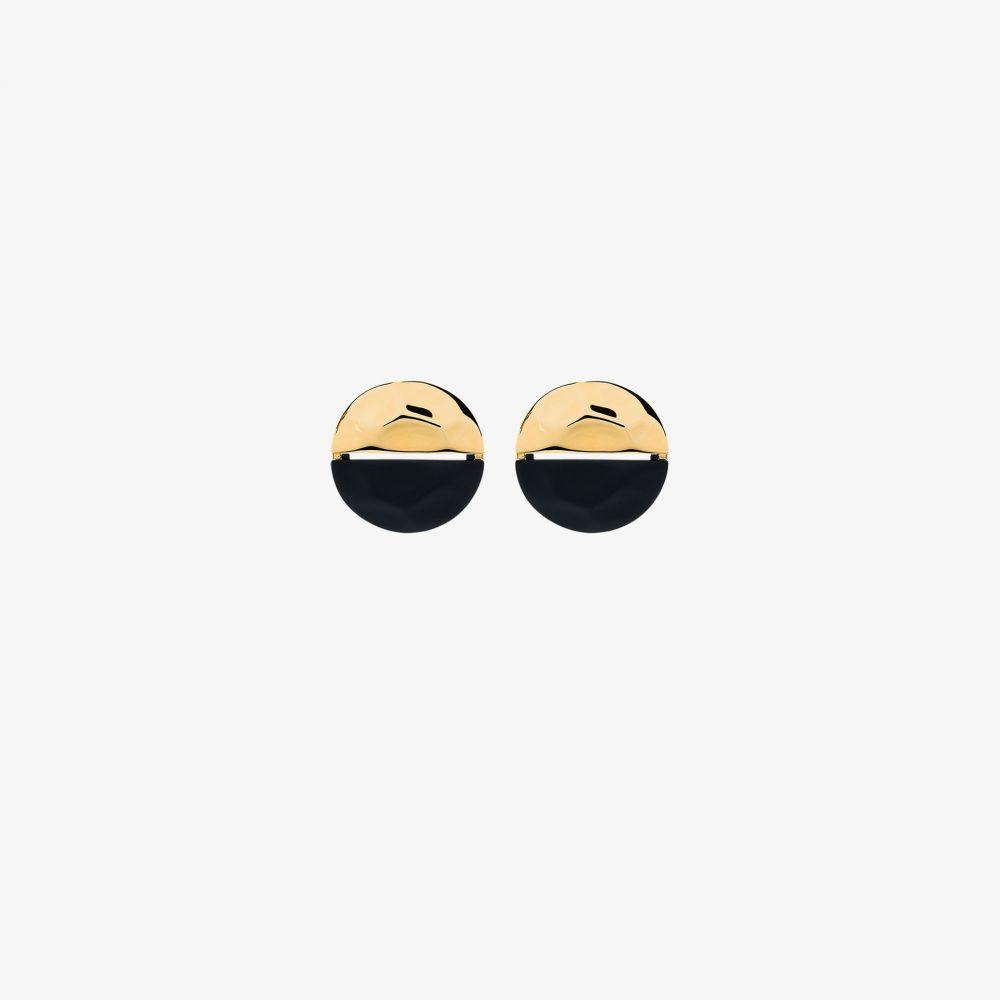 モニカソルド Nausheen Shah X Monica Sordo レディース イヤリング・ピアス ジュエリー・アクセサリー【gold-plated Kiki circular earrings】blue