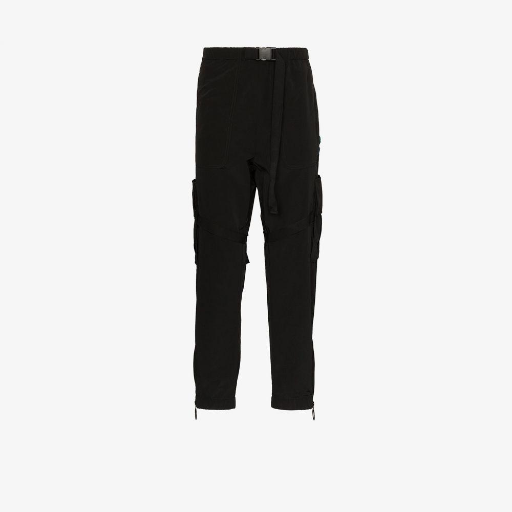 オフホワイト Off-White メンズ カーゴパンツ ボトムス・パンツ【logo print cargo trousers】black