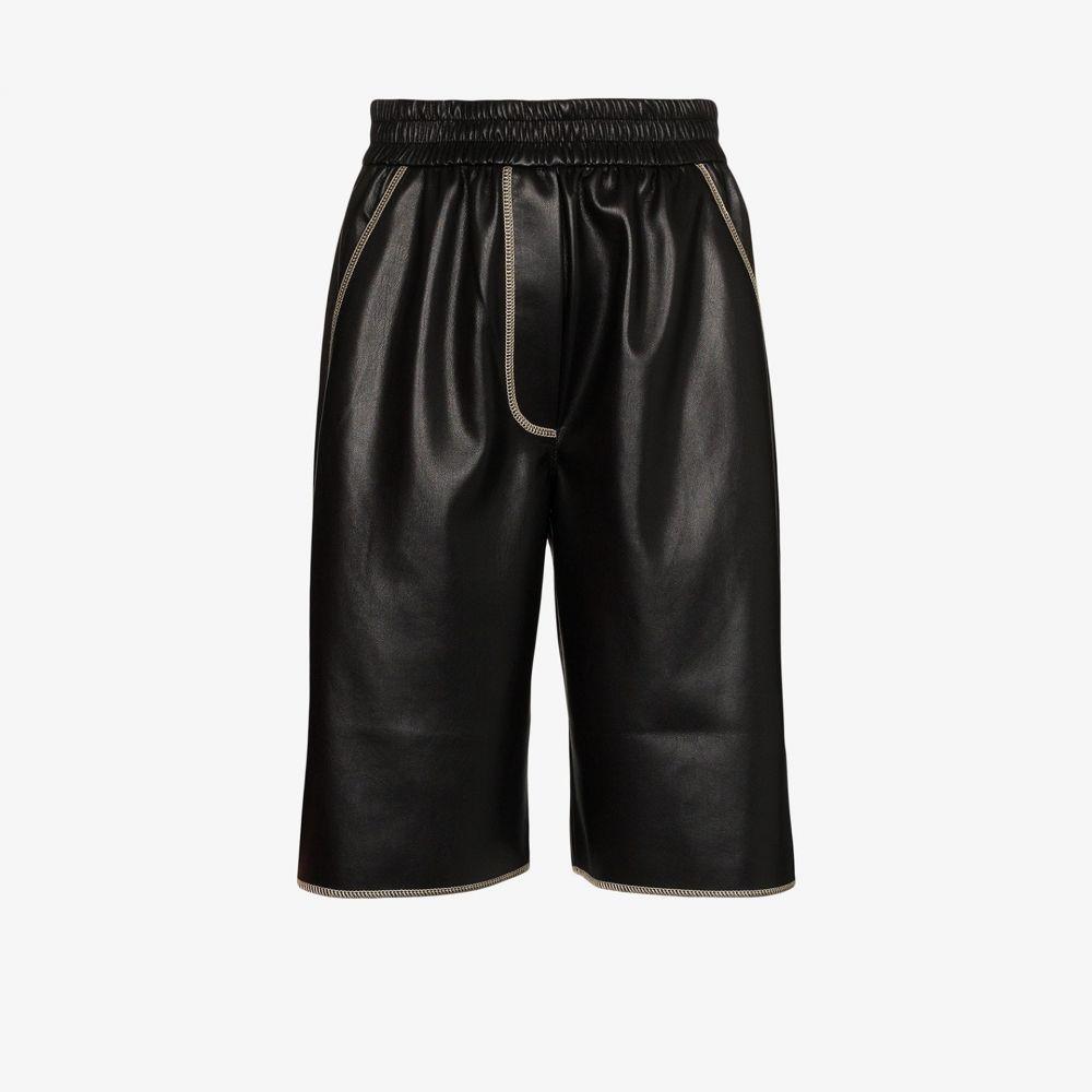 ナヌシュカ Nanushka レディース ショートパンツ ボトムス・パンツ【Yolie vegan leather shorts】black